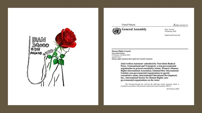 The UN condemns violation of Human Rights in Iran