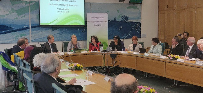 UK solidarity conference with the Iranian uprising on the occasion of the International Women's Day