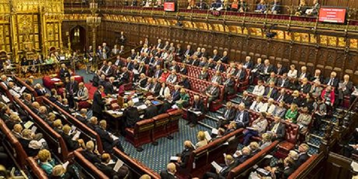 The UK House of Lords