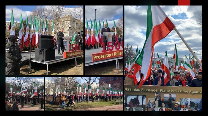 Iranian diaspora rally in Washington DC