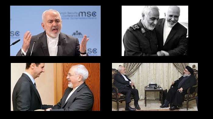 Zarif and top terrorists and notorious dictators