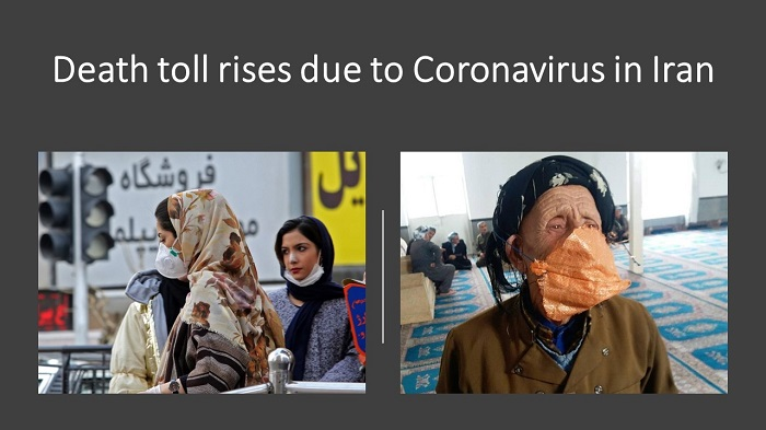 corona virus in Iran
