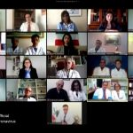 Online conference by physicians and medical staff from 25 locations around the world-March 8, 2020