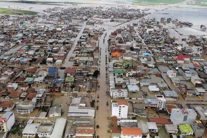 In March 2019 devastating floods ravaged Lorestan Province,