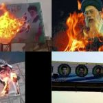 Khamenei in fire