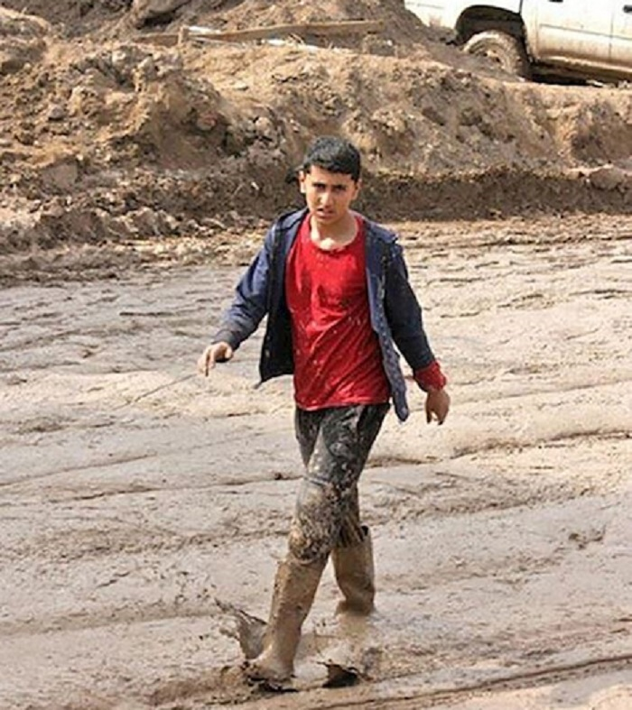 Floods have yet again hit Iran