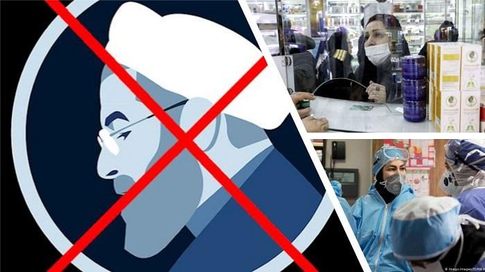 Hassan Rouhani and Iranians suffering coronavirus