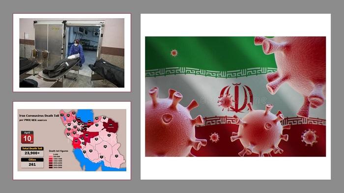 coronavirus victims in Iran rises.