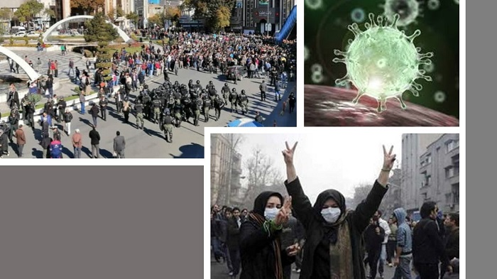 Uprising and coronavirus in Iran