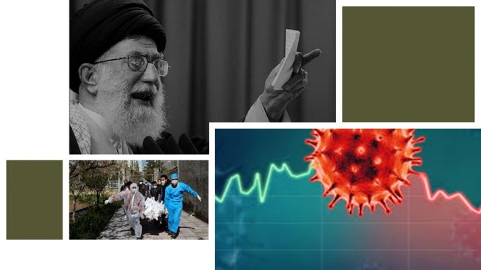 Khamenei and victims of coronavirus in Iran