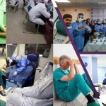 Medical staff in Iran