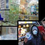 Religious sites across Iran.