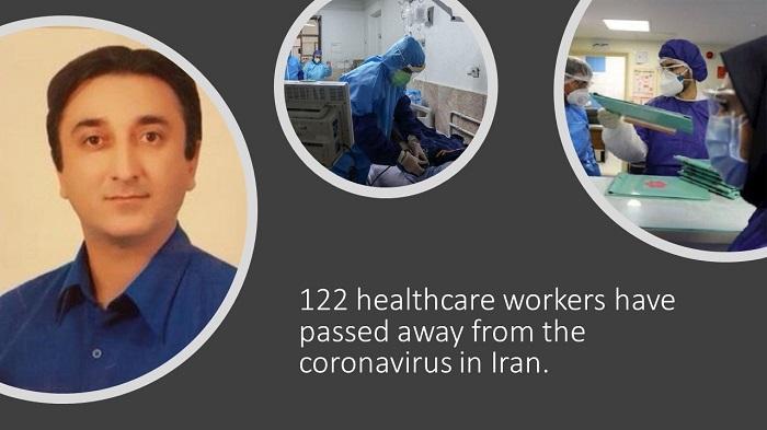Medical staff in Iran