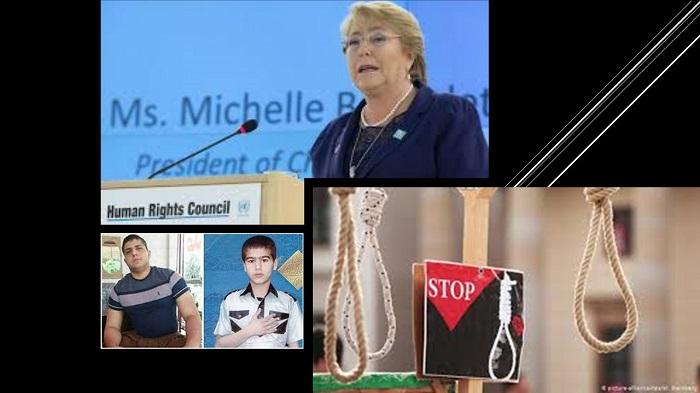 execution of Shayan Saeedpour