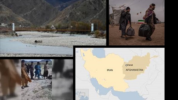 Afghan migrants killed
