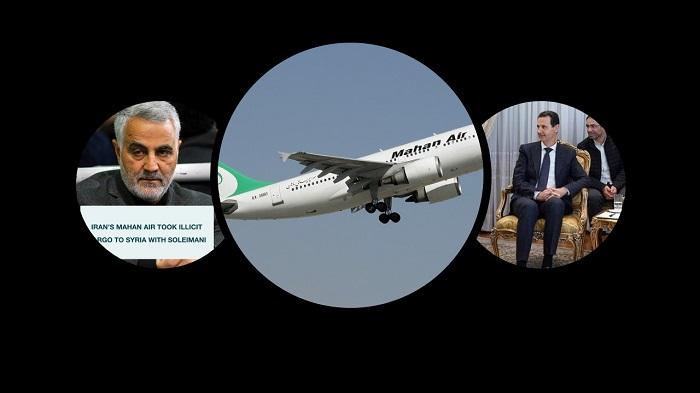 Mahan Air Sending Arms to Syria
