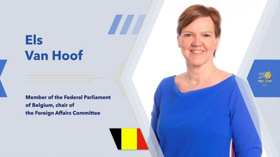 Belgian MP Els Van Hoof