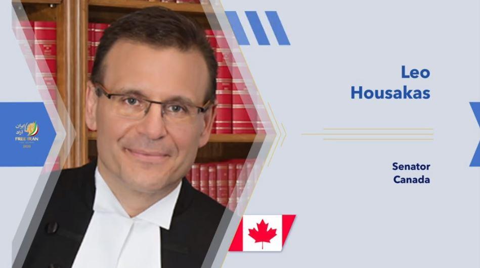 Canadian Senator Leo Housakas