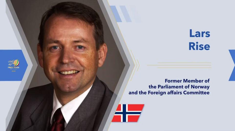 Former Norwegian MP Lars Rise