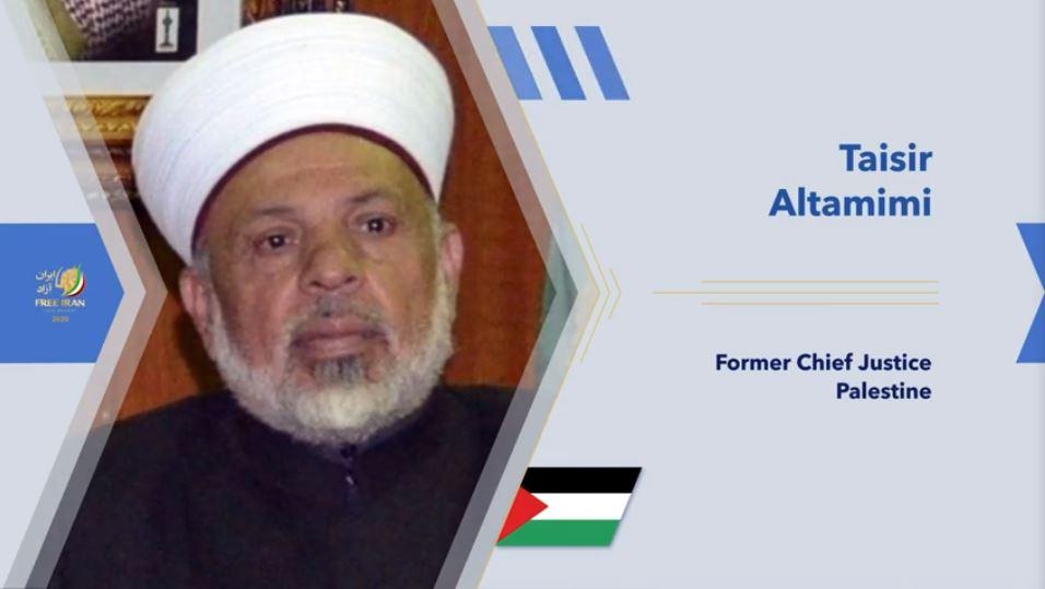 Former Palestinian Chief Justice Taisir al-Tamimi