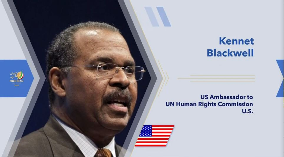 Former U.S. Ambassador to the UN Human Rights Commission Ken Blackwell