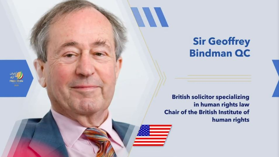 Geoffrey Bindman, British solicitor specialising in human rights law and founder of the Bindmans LLP human rights law firm