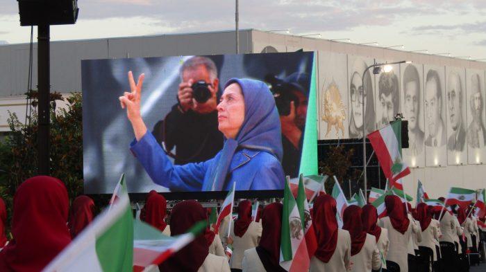 Maryam Rajavi, salutes MEK Resistance Units during Ashraf 3 Conference