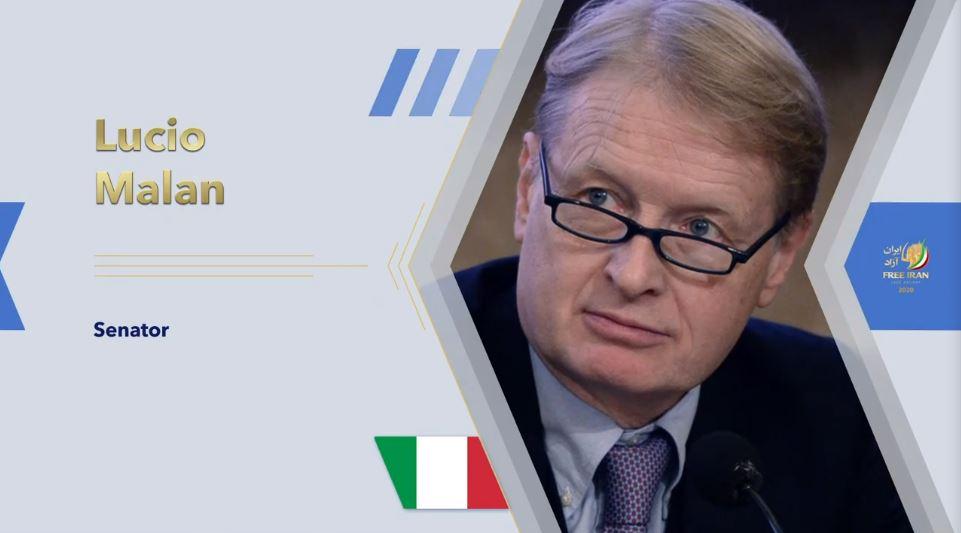 Italian Senator Lucio Malan