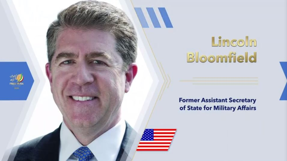 Lincoln Bloomfield, former U.S. Assistant Secretary of State for Military Affairs