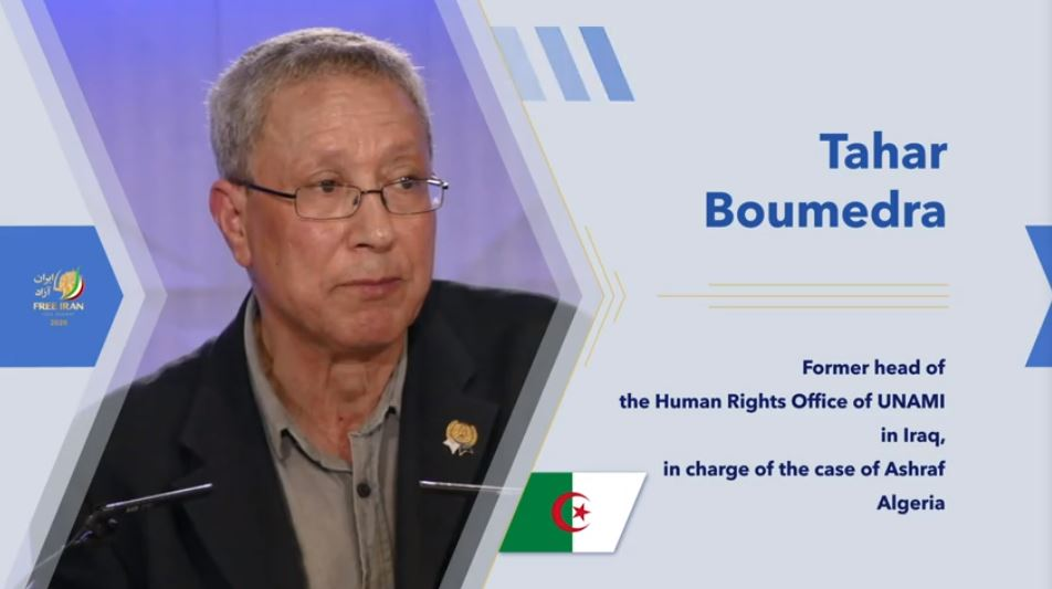 Tahar Boumedra, former head of the UN Advisory Mission for Iraq's Human Rights Office