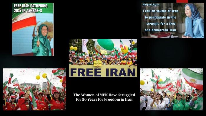 struggle for freedom in Iran