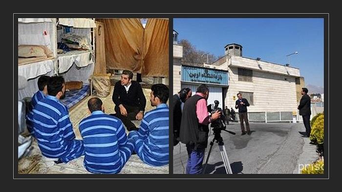 Regime's TV Glowing Prison