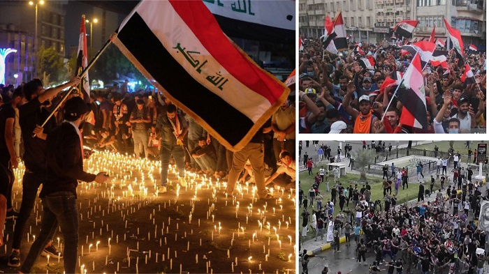 Iraqi protesters demand Iranian regime's eviction from Iraq