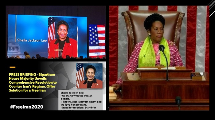 Transcript of remarks Rep. Sheila Jackson Lee