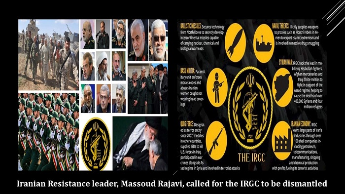 The Revolutionary Guards (IRGC)