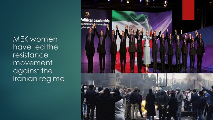 (NCRI) and (PMOI / MEK Iran): MEK women