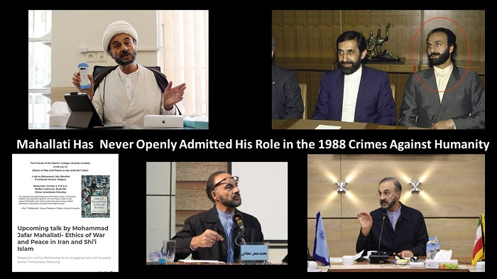 Role in the 1988 Crimes Against Humanity