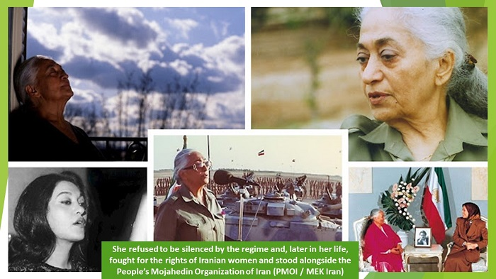 supporter of the MEK, Marzieh