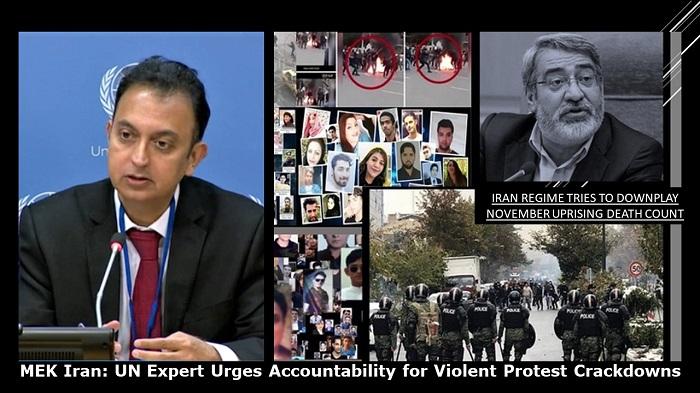 UN Official Demands