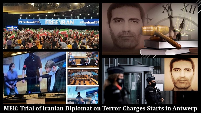 Trial of Iranian Diplomat on Terror