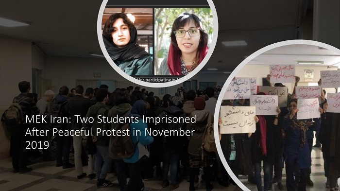 Two Students Imprisoned