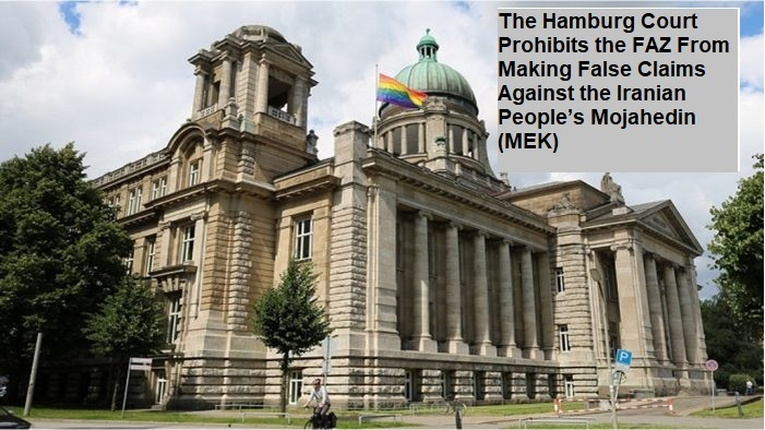 Hamburg Court rejects demonization campaign against MEK