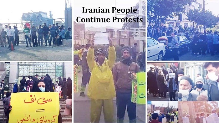 People Continue Protests