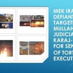 Defiant Youth Targeting Mullahs' Judiciary in Karaj- Center for Sentencing of Torture and Executions.