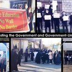 MEK Iran: Protesting