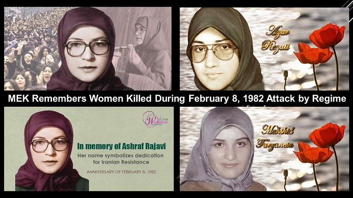 MEK Remembers Women Killed During February 8