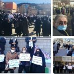 Retirees protest