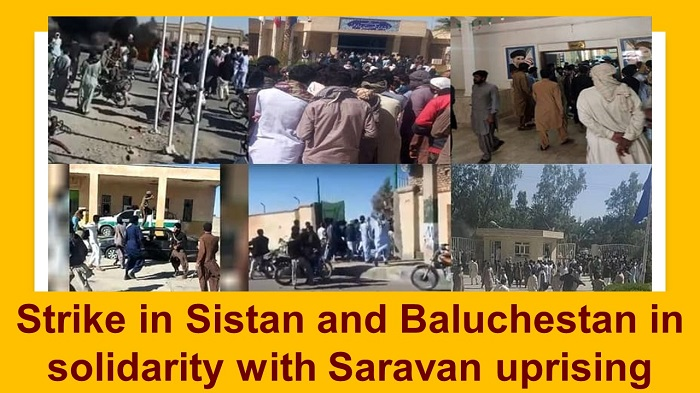 Saravan uprising