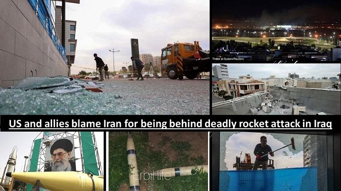 deadly rocket attack in Iraq