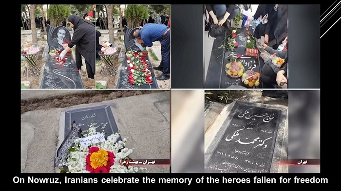 Nowruz the Memory of the Heroes Fallen for Freedom.